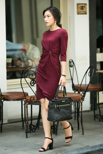 Cách Thiết kế váy xoắn eo