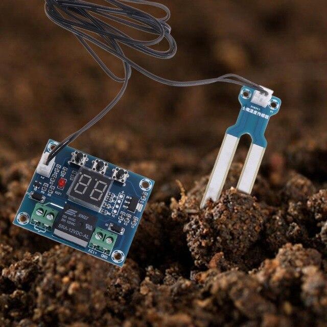 Tầm quan trọng của cảm biến đo độ ẩm trong hệ thống tưới