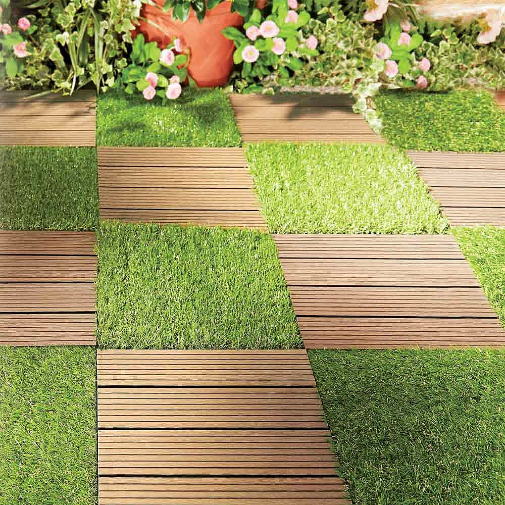 Hướng dẫn cách thiết kế thi công sân vườn cỏ nhân tạo xanh mát