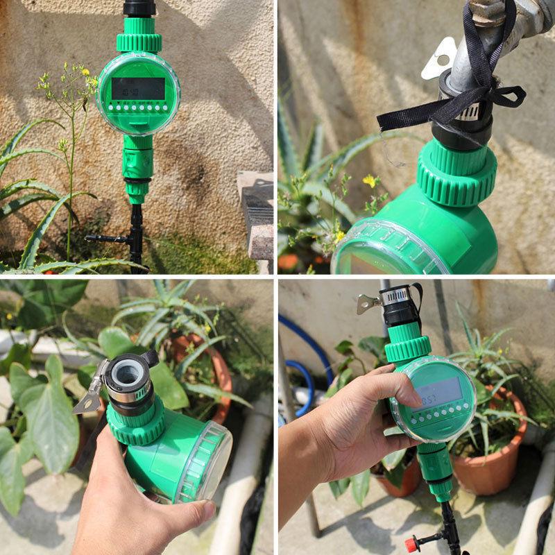 Cách khắc phục khi lắp đặt thiết bị tưới hẹn giờ tự động nhưng áp lực nước yếu