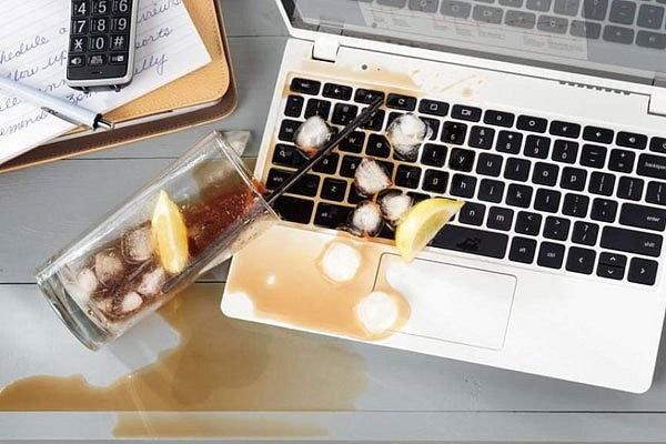 Mẹo xử lý đồ điện tử bị ngấm nước
