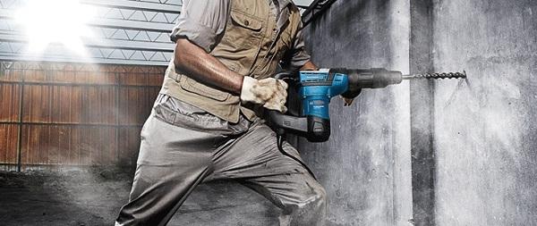 Hướng dẫn sử dụng máy khoan búa chuẩn xác an toàn