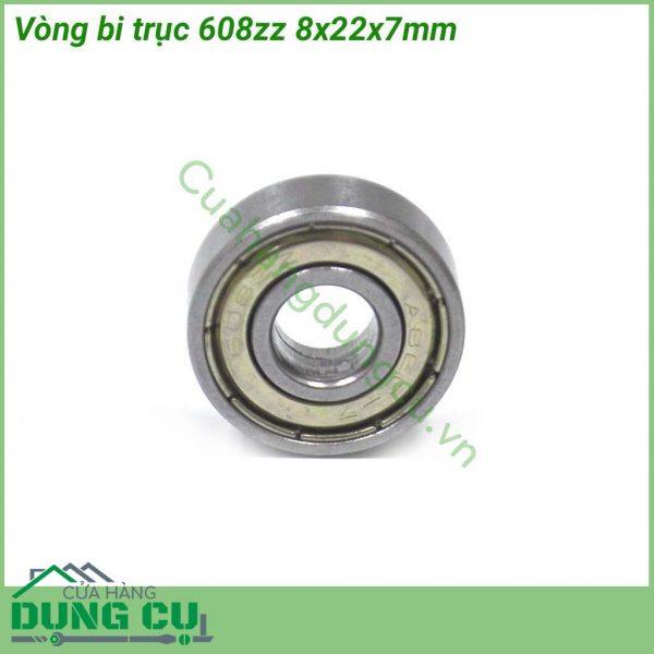 Bộ 2 vòng bi trục 608zz 8x22x7mm