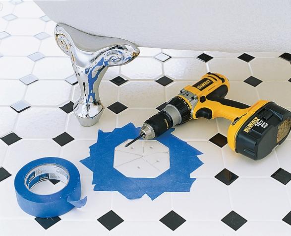 Cách tự sửa gạch lát nền bị vỡ