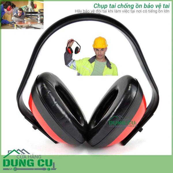 Chụp bịt tai cỡ nhỏ chống ồn bảo vệ tai tặng kính bảo hộ