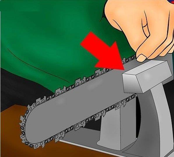 Cách dũa xích máy cưa xích đúng kỹ thuật để răng xích sắc bén như mới