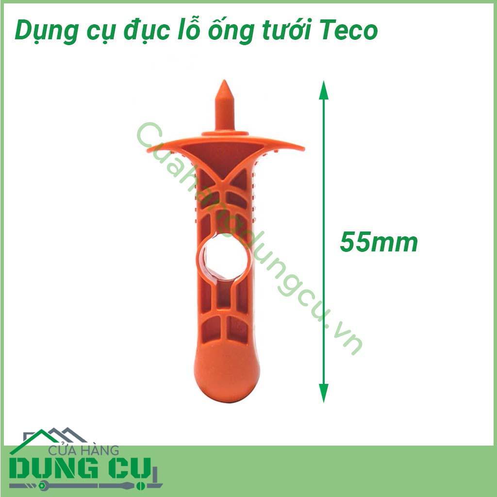 Dụng cụ đục lỗ ống tưới nhỏ giọt Teco